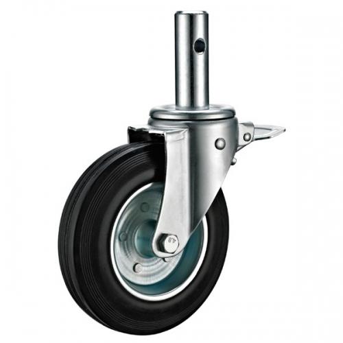 小编给你说明一下对工业脚轮定制进行有效的保养方法