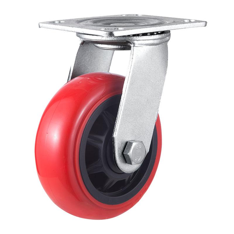 平底重型脚轮