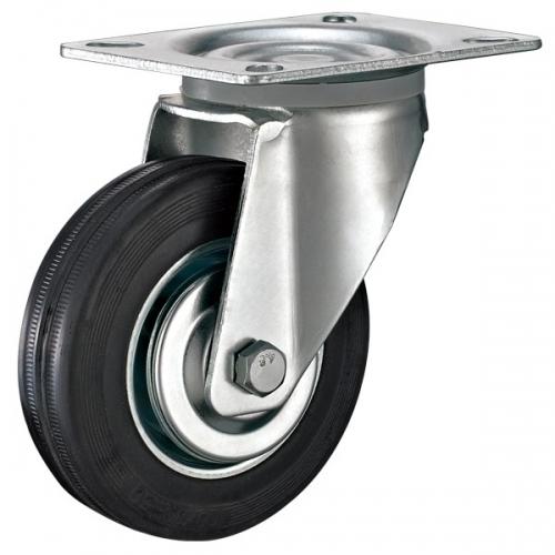 平底工业脚轮