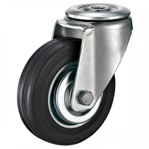 工业脚轮带刹车